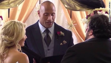 Dwayne The Rock Johnson officiates wedding Daily Hit Newday _00002918.jpg