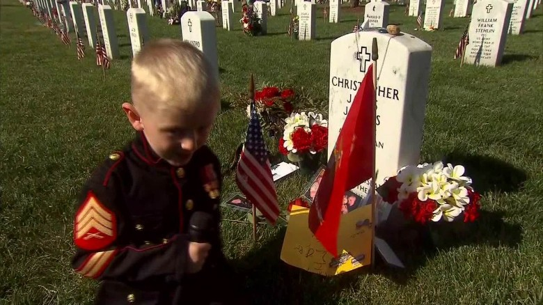 Fallen soldier's family stresses meaning of Memorial Day