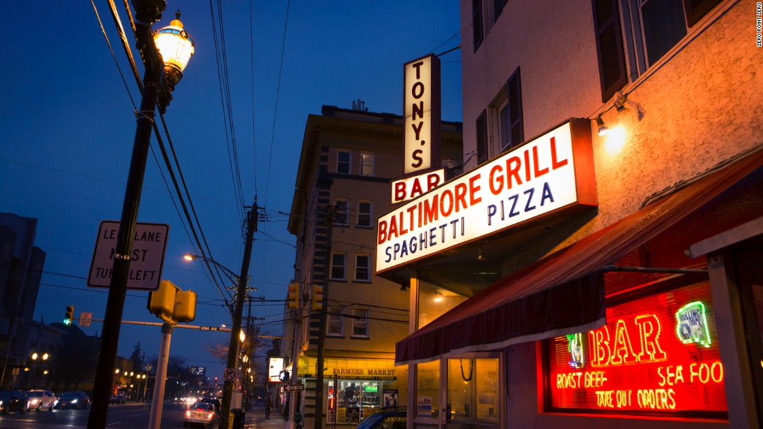 Tony then visits Baltimore Grill in Atlantic City, which specializes in old-fashioned Italian-American fare.