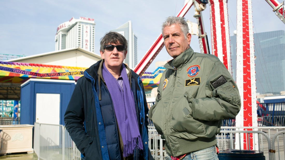 "Anthony Bourdain returns to his roots in New Jersey with younger brother Chris. ""Parts Unknown"" airs Sundays at 9 p.m. ET/PT."