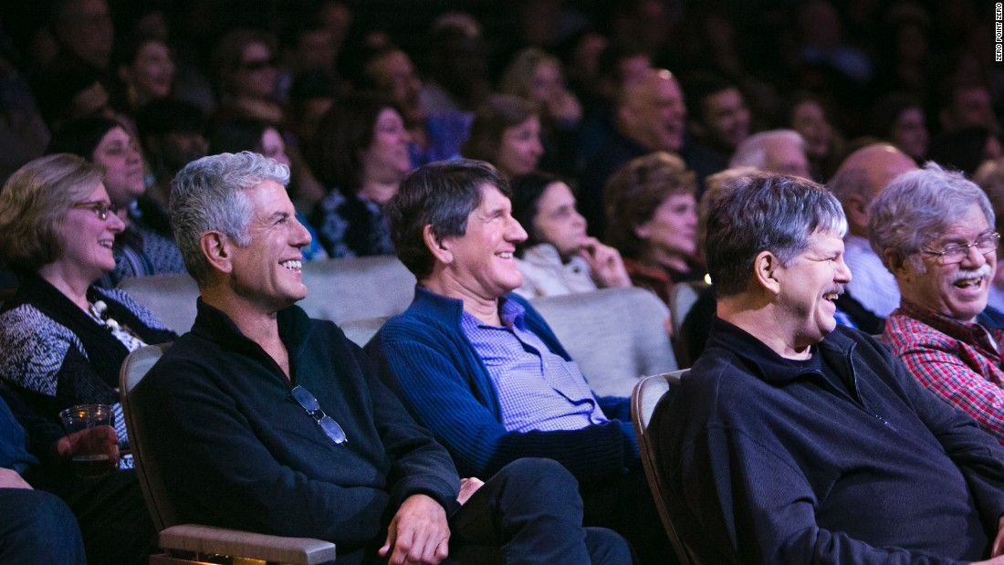 Tony and Chris watch Vos, along with his wife Bonnie McFarlane, perform in Atlantic City.