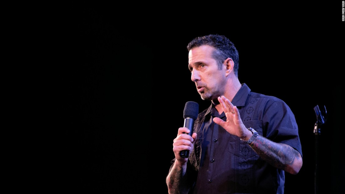 Comedian Rich Vos was also born and bred in New Jersey.