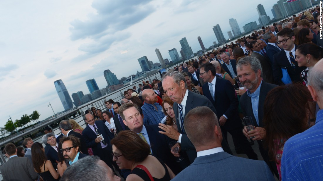 Pataki was the governor of New York during the Sept. 11, 2001 attacks and led the state during one of the toughest times in U.S. history. Former New York Governor George Pataki, center, attends the 2012 Hudson River Park Gala at Hudson River Park on May 29, 2012 in New York City.