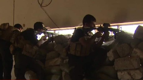 CNN joins Iraqi special forces on the ISIS front line