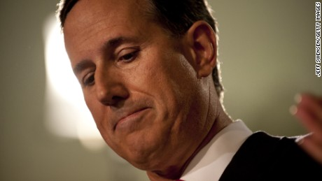 Former U.S. Senator Rick Santorum (R-PA) announces his candidacy for the 2016 Republican nomination for president at Penn United Technologies May 27, 2015 in Cabot, Pennsylvania.