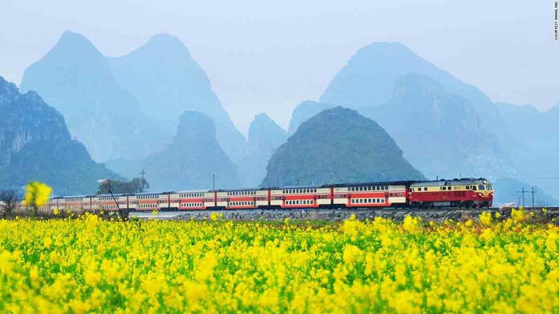 Wang Wei captures China's railways | CNN Travel