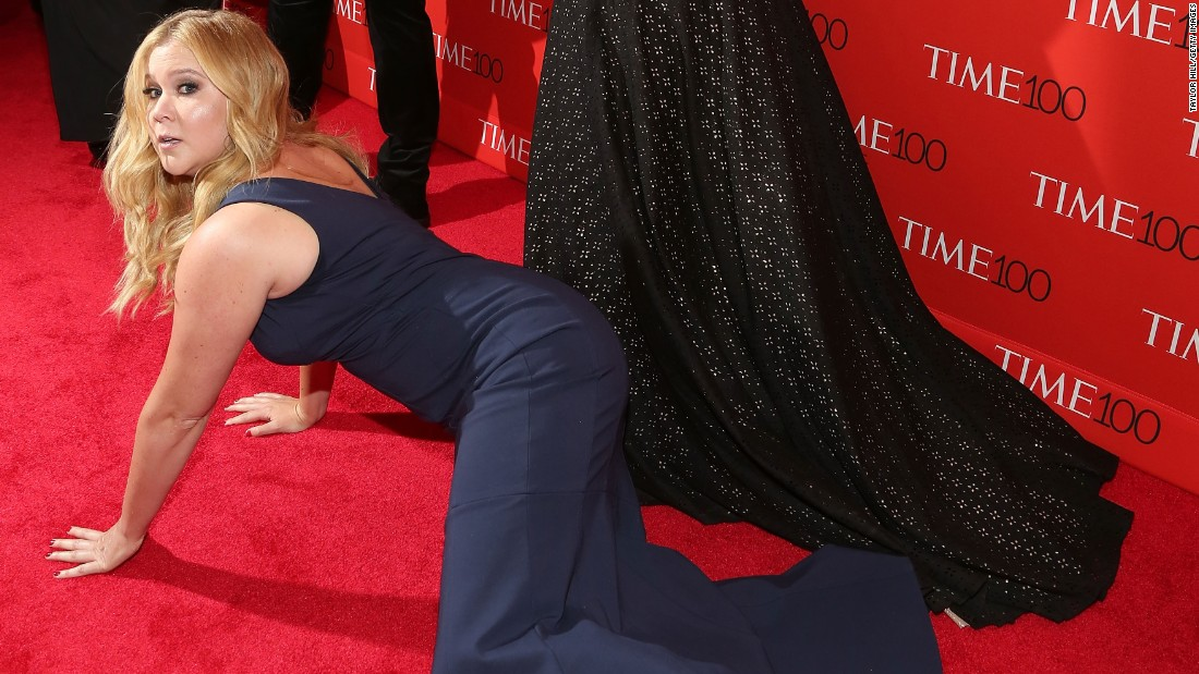 "Known for her smart, raunchy, no-holds-barred comedy, Amy Schumer is one of the newest reigning queens of American humor. After creating the popular Comedy Central series ""Inside Amy Schumer,"" the blockbuster success ""Trainwreck"" and the best-seller ""The Girl with the Lower Back Tattoo,"" in 2016 Schumer became <a href=""http://www.forbes.com/sites/maddieberg/2016/09/27/how-amy-schumer-became-the-first-woman-to-ever-make-the-highest-paid-comedian-list/#2abad27a7df4"" target=""_blank"">the first woman to ever make Forbes' highest-paid comedians list</a>."
