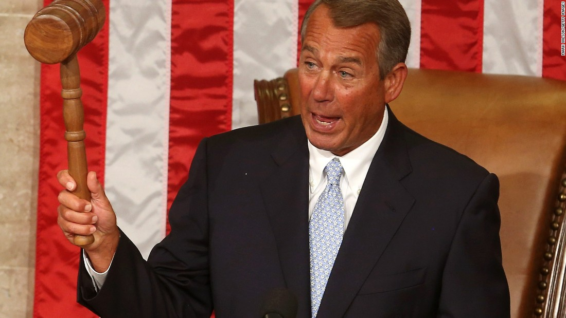 Former Speaker John Boehner, a Republican from Ohio, gained his power from his predecessor, former Speaker Nancy Pelosi, when the GOP gained the majority of seats in the House in the 2010 midterm elections. Boehner announced his intention to leave the position in September 2015, and Paul Ryan succeeded him in October.