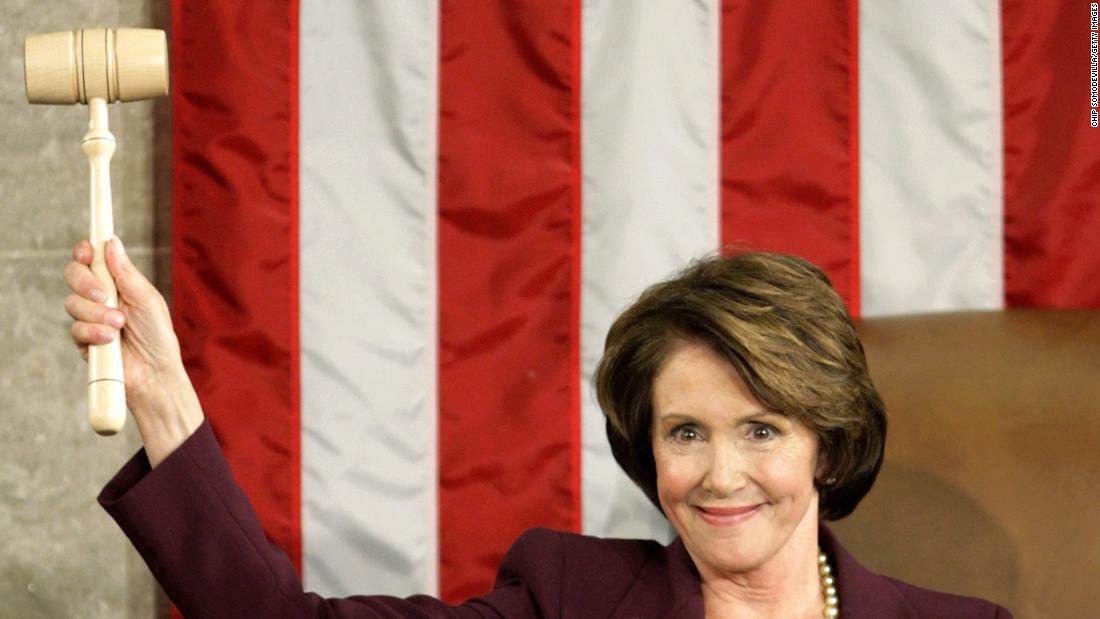 U.S. Rep. Nancy Pelosi was the first and only female speaker of the House. Her speakership lasted from January 4, 2007, to January 3, 2011. Pelosi, a Democrat, lost her seat to the Republican majority in the 2010 midterms. John Boehner took the gavel.