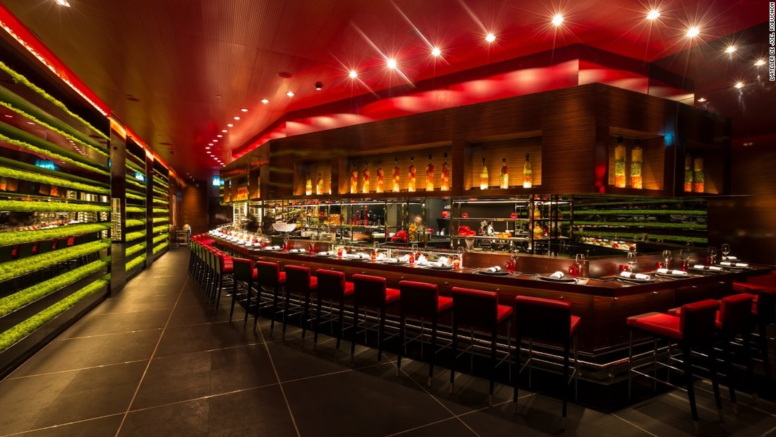 Joël Robuchon establishments around the world hold 28 Michelin stars. Many saw the 2014 arrival of his latest, Bangkok's L' Atelier, as emblematic of the increased seriousness with which the city's eating scene is being taken.