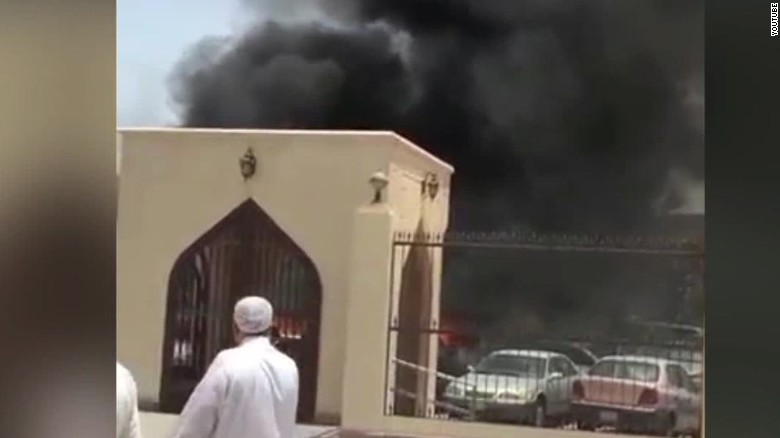 Explosion outside mosque in Saudi Arabia