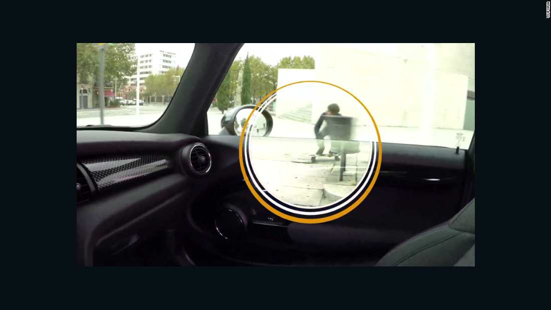 X-ray vision would make life easier for motorists.