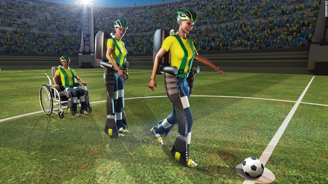 Brain computer interfaces allow subjects to move objects with their mind, or even play football.