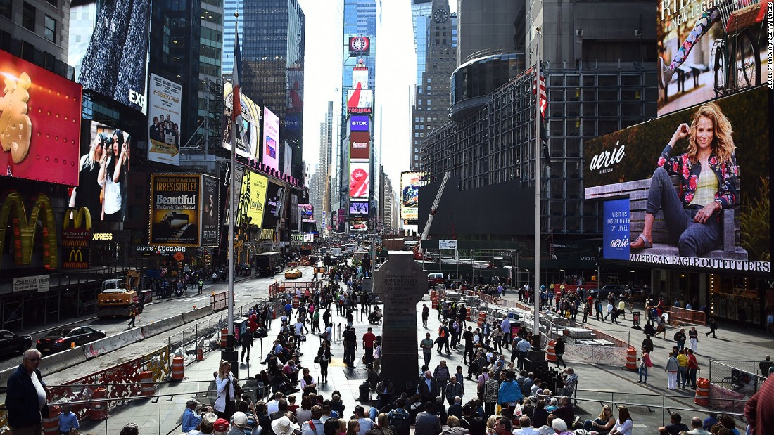 New York is expected to draw 12.27 million international visitors in 2015. The city is tops in visitor spending in North America ($17.4 billion).