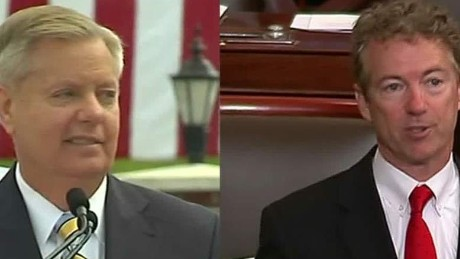 Graham campaign takes shots at Paul's foreign policy