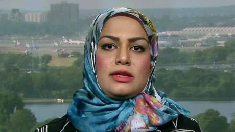 united flight muslim woman discrimination claims intv newday_00005707