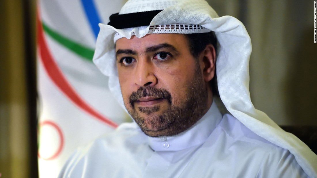 The 51-year-old member of the Kuwaiti royal family is a member of the FIFA executive committee and a prominent figure in the Olympic movement. He is president of the Association of National Olympic Committees, which oversees the hundreds of national Olympic committees. Al-Sabah has been a member of the International Olympic Committee since 1992. He is a Blatter supporter, and if he ran, could draw votes from other backers of the outgoing president.