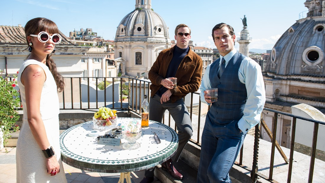"Henry Cavill <a href=""http://www.flickeringmyth.com/2015/05/new-images-from-the-man-from-u-n-c-l-e.html"" target=""_blank"">brings ""The Man from U.N.C.L.E."" to the big screen,</a> based on the 1960s spy TV series, in August."