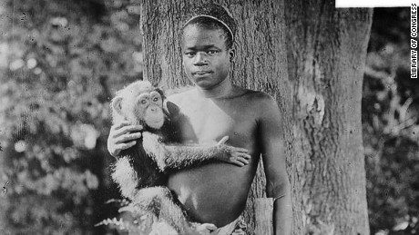Ota Benga in an undated Library of Congress photo.