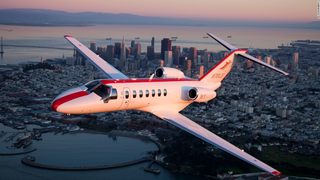 "Jetsuite operates light jets out of California. It's pioneered ""empty leg"" discounts."