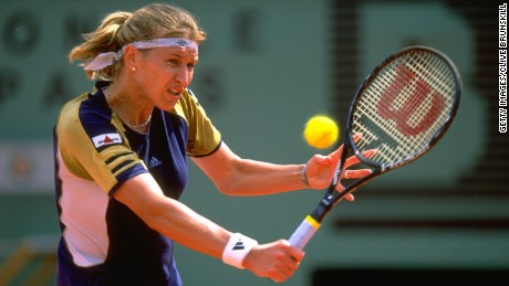 How Steffi Graf fell in love with Roland Garros