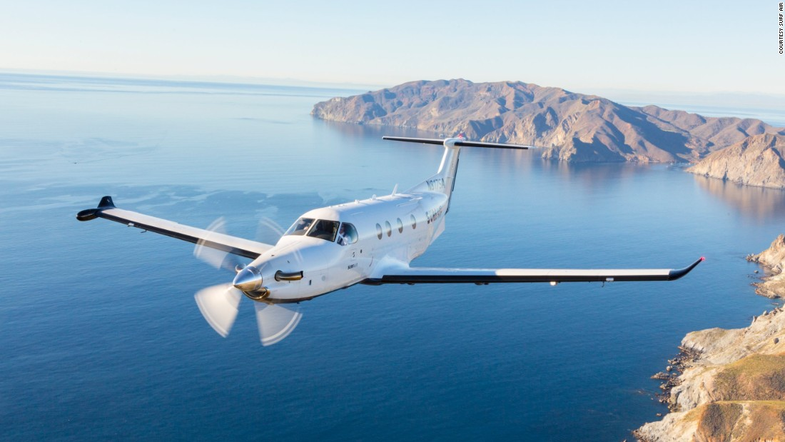 California-based Surfair offers unlimited monthly flights for its members, who can fly from San Francisco, Los Angeles and Las Vegas, among other cities.