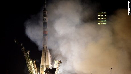 Russia's Soyuz TMA-16M spacecraft