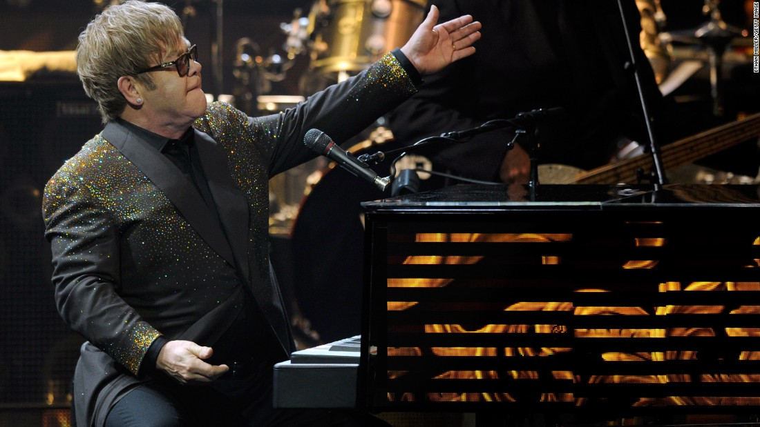 "Perhaps one of the highest profile celebrity charities, <a href=""http://ejaf.org/"" target=""_blank"">Elton John's AIDS Foundation </a>funds programs that help individuals living with the disease.<br /><br /><br /><br /><br /><br />LAS VEGAS, NV - SEPTEMBER 28: Recording artist Sir Elton John performs during the first night of his new show, 'The Million Dollar Piano' as John begins a three-year residency at The Colosseum at Caesars Palace September 28, 2011 in Las Vegas, Nevada. (Photo by Ethan Miller/Getty Images)"
