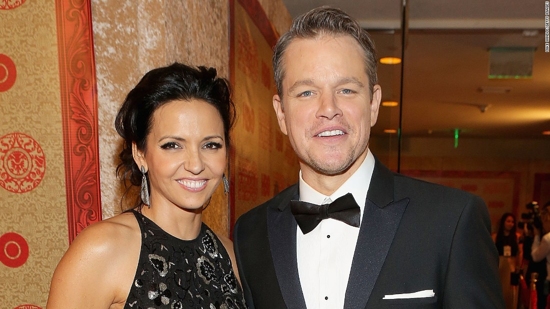 "Hollywood star Matt Damon, pictured here with his wife Luciana Barroso, is the co-founder of <a href=""http://water.org/"" target=""_blank"">Water.org</a>, an organization that attempts to provide clean and safe water to communities in Africa.<br /><br />"