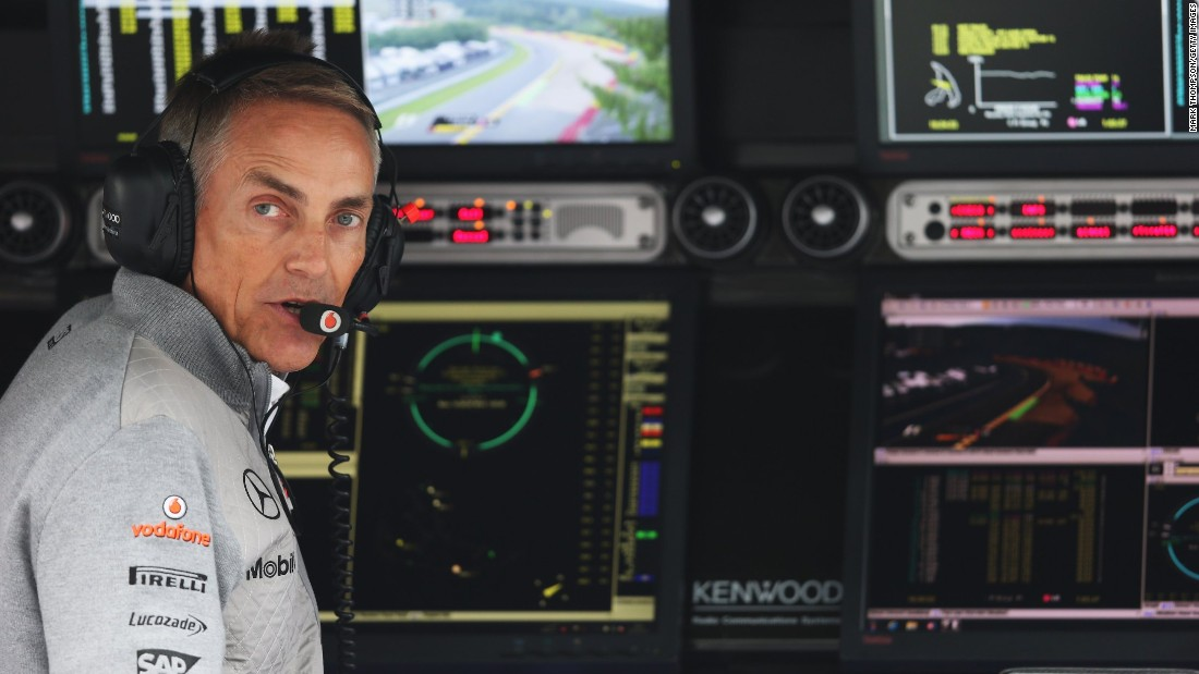 Whitmarsh spent 25 years with the British Formula One team. He was CEO from 2004 to 2013 and team principal from 2009 to 2013. He was appointed CEO of Ben Ainslie Racing in March 2015.