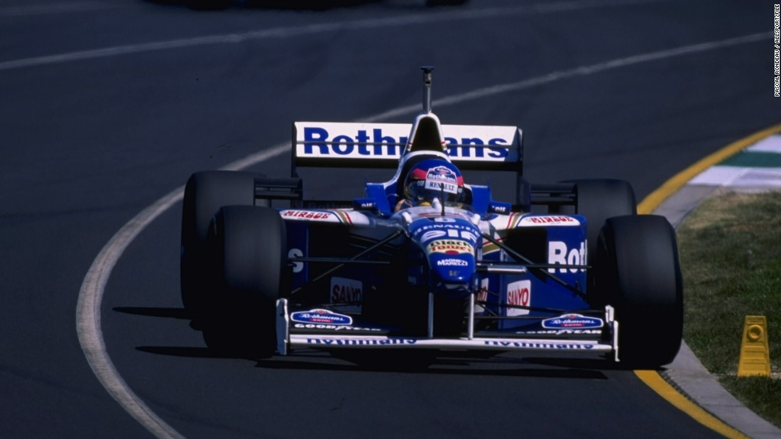 Villeneuve went on to win the IndyCar title -- a triumph which propelled him into F1.  He signed a two-year deal with Williams and won his first race in the fourth round of the 1996 season in Germany.