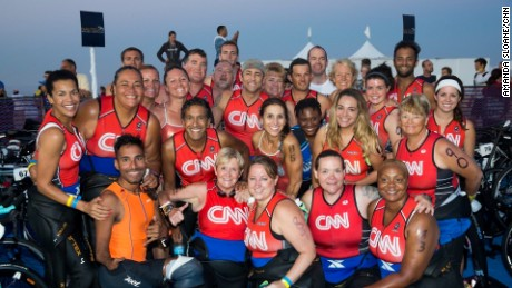 Fit Nation 2014 team, author in center.