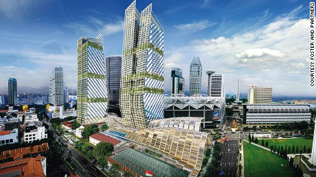 Singapore's developments have strict sustainability principles