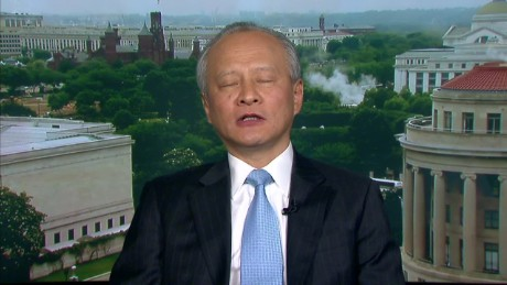 intv amanpour Cui Tiankai south china sea_00002721
