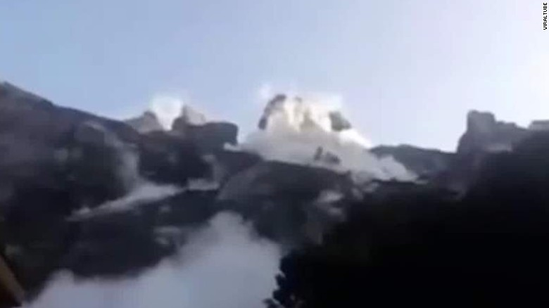 5 Americans among climbers trapped on Mount Kinabalu