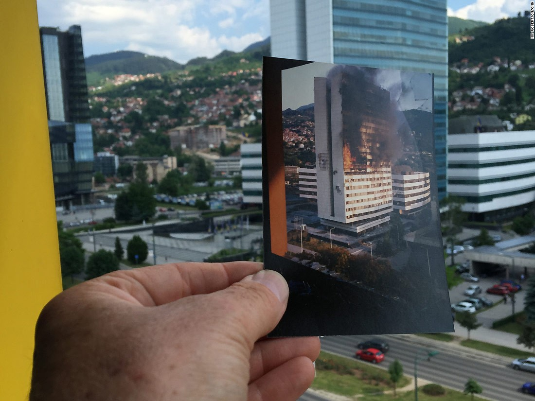 Twenty years after the Dayton Peace Accords brought an end to fighting in the Bosnian War