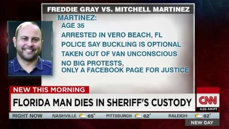 Man dies after losing consciousness in police van_00041609
