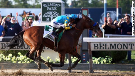 American Pharoah becomes first Triple Crown winner in 37 years