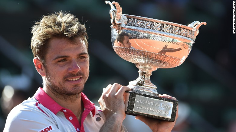 Stanislas Wawrinka wins French Open