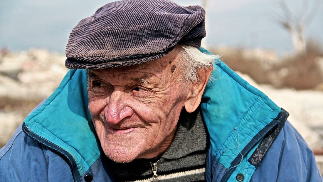 Pablo Novak, 85, is the sole inhabitant of Epecuen, a desolated town 500 kilometers southwest of Buenos Aires, Argentina.