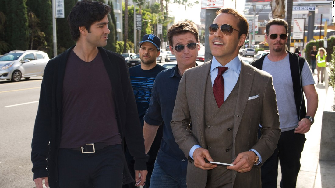 """Entourage,"" which opened June 5, had a relatively low budget ($30 million) but got off to <a href=""http://money.cnn.com/2015/06/07/media/entourage-spy-san-andreas-box-office/index.html"">a poor start, taking in $10.4 million</a> its first weekend."