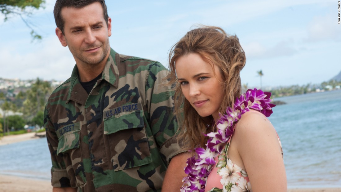 "Cameron Crowe's ""Aloha,"" starring Bradley Cooper and Rachel McAdams, got <a href=""http://www.rottentomatoes.com/m/aloha_2015/"" target=""_blank"">terrible reviews</a> and has grossed just $16 million on a $37 million budget."