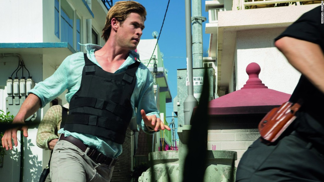 """Blackhat,"" starring Chris Hemsworth, was a misfire from director Michael Mann. The film was budgeted at $70 million and made just $17.8 million worldwide."