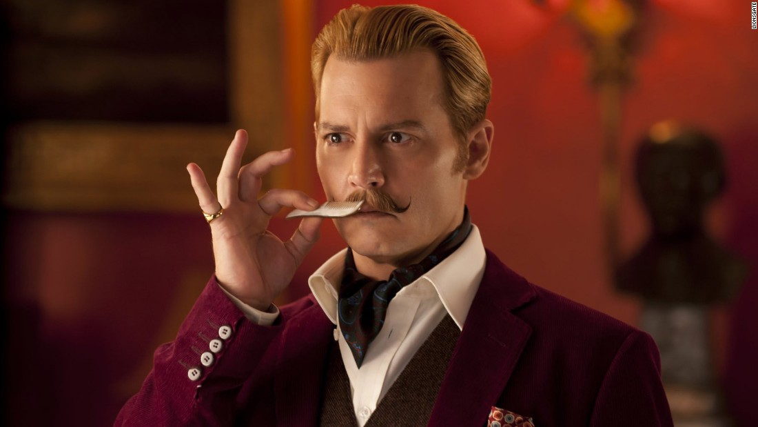 """Mortdecai,"" starring Johnny Depp, was dumped into the ditch of January and lived down to expectations, grossing about $7.7 million domestically and another $22.7 million overseas on a budget of about $60 million. The reviews were also dismal, though <a href=""http://www.avclub.com/review/those-tolerance-johnny-depp-goofing-around-may-act-214245?"" target=""_blank"">one critic compared it to ""Hudson Hawk""</a> with some approval."