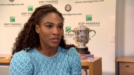 french open serena williams interview_00014417