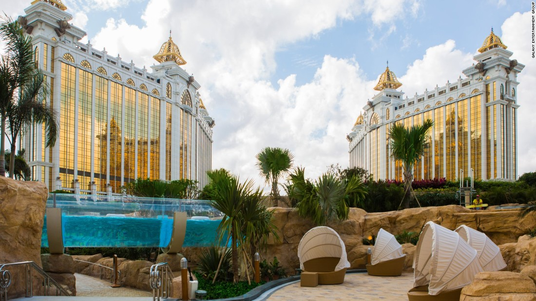 Opened May 27, Galaxy Macau Phase II features the longest rooftop aquatic ride in the world.