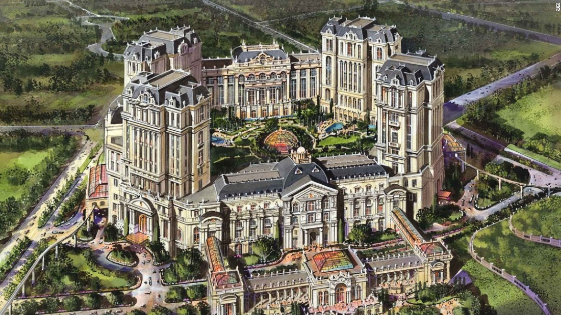 The last major new resort to open in 2017, SJM's Lisboa Palace will be home to three hotels: Lisboa Hotel, a Karl Lagerfeld-designed hotel and a Palazzo Versace hotel.