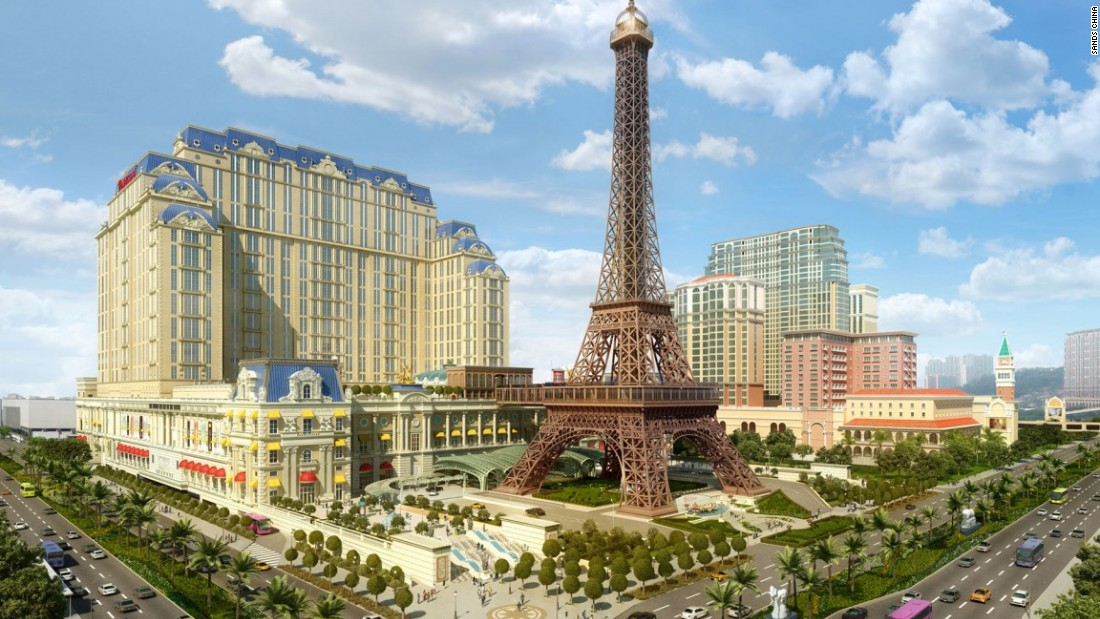 Launching early next year, the Sands Parisian resort will offer visitors a City of Light experience, complete with a half-sized replica of the Eiffel Tower.