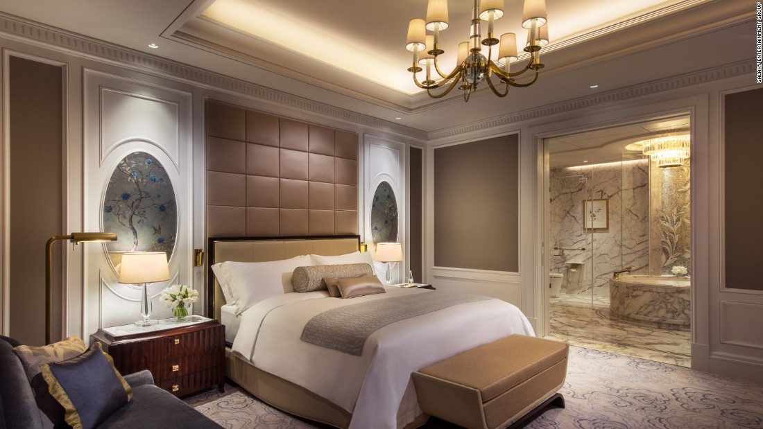 Galaxy resort Phase II will house the world's first all-suite Ritz-Carlton Hotel.
