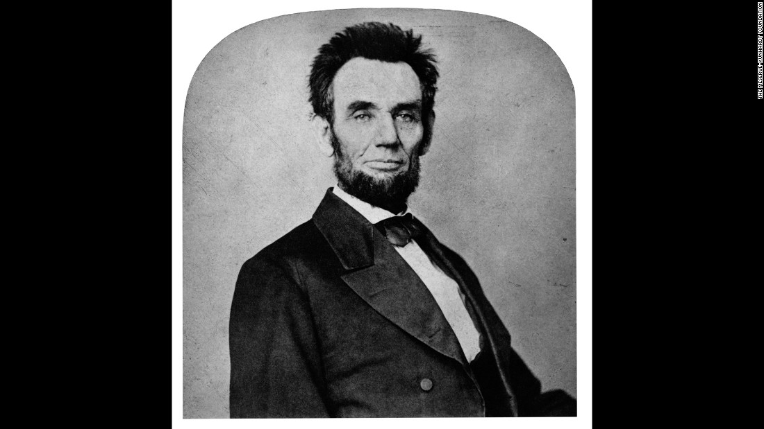 Lincoln in Washington, circa February 1865. The photograph is by Lewis Emory Walker. These and other images of this time show how much the President had aged during the Civil War. He was only 56 when he was assassinated two months later by John Wilkes Booth.